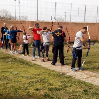 Clases para principiantes en el tiro con arco
