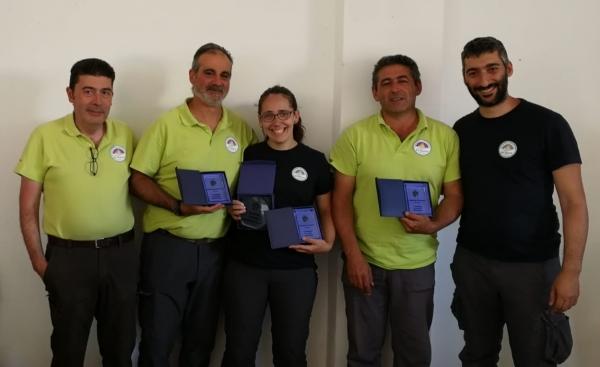 Resultados del Campeonato de Extremadura 3D 2019