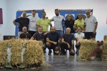 Imágenes de la exhibición en la Feria de Gévora 2019