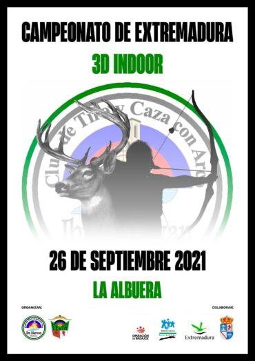 Campeonato de Extremadura 3D Indoor 2021
